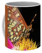 Profile Of A Butterfly Coffee Mug