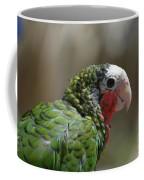 Profile Of A Conure Parrot Up Close Coffee Mug