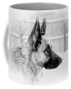 Profile Of A German Shepherd Coffee Mug