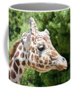 Profile Of A Giraffe Coffee Mug