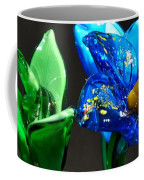 Profile Of Glass Flowers Coffee Mug