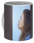 Profile Portrait Of A Lovely Filipina With A Mole On Her Cheek   Coffee Mug