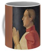 Profile Portrait Of Cardinal Philippe De Levis Coffee Mug