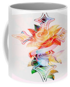 Profound Thought Cross And Roses Coffee Mug