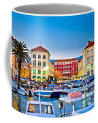 Prokurative Square In Split Evening Colorful View Coffee Mug