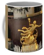 Prometheus Rockefeller Center Coffee Mug