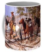 Prospecting For Cattle Range 1889 Coffee Mug