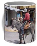 Prospector Re-enactor With Fan Allen Street Tombstone Arizona 200 Coffee Mug