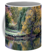 Prosser - Autumn Reflection With Geese Coffee Mug