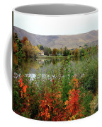 Prosser Autumn River With Hills Coffee Mug
