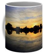 Prosser Sunset - Blue And Gold Coffee Mug