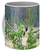Protective Elk Coffee Mug