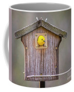 Prothonotary Warbler House Coffee Mug