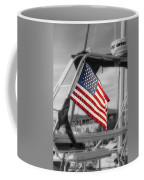 Proud Nautical American  Coffee Mug