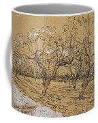 Provencal Orchard Arles  March - April 1888 Vincent Van Gogh 1853  1890 Coffee Mug