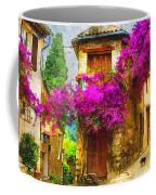 Provence Street Coffee Mug