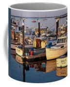 Provincetown Fishing Boats, Ptown, Ma Coffee Mug