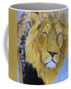 Prowling Lion Coffee Mug