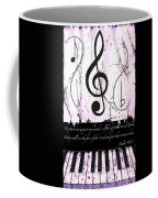 Psalm 40/3 Purple Coffee Mug
