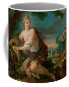 Psyche Gathering The Fleece Of The Rams Of The Sun Coffee Mug