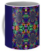 Psychedelic Abstract Kaleidoscope Coffee Mug