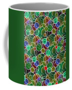 Psychedelic Circles Coffee Mug