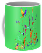 Psychedelic Forest Coffee Mug