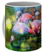 Psychedelic Ibis Coffee Mug