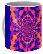 Psychedelic Mandelbrot Set  Kaleidoscope Coffee Mug