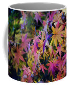 Psychedelic Maple Coffee Mug by Kaye Menner