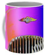 Psychedelic Morgan 4/4 Badge And Radiator Coffee Mug