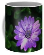 Psychedelic Purple Petals  Coffee Mug