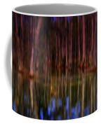 Psychedelic Swamp Trees Coffee Mug