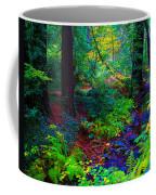 Psychedelicosmic Creek On Mt Tamalpais Coffee Mug