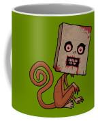 Psycho Sack Monkey Coffee Mug