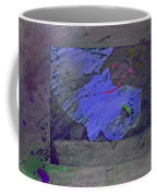Psychowarhol Blue Coffee Mug