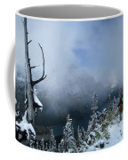 Ptarmigan Trail Overlooking Elizabeth Lake 2 - Glacier National Park Coffee Mug