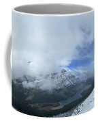 Ptarmigan Trail Overlooking Elizabeth Lake - Glacier National Park Coffee Mug
