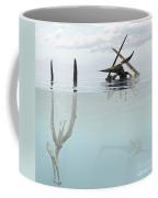 Pteranodon Pterosaur Diving Underwater Coffee Mug