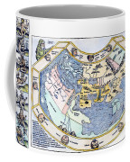 Ptolemaic World Map, 1493 Coffee Mug