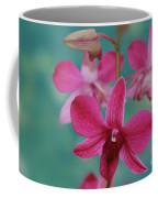 Puanani Kealoha Dendrobium D Burana Red Flame Hawaiian Orchid Coffee Mug