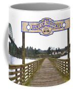Public Fishing Pier Coffee Mug