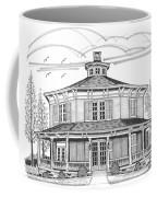 Public Library Red Hook Ny Coffee Mug by Richard Wambach