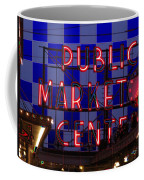 Public Market Checkerboard Coffee Mug