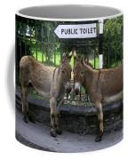 Public Toilet Coffee Mug