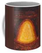 Pueblo Kiva Fireplace Original Painting Coffee Mug