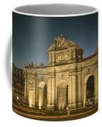 Puerta De Alcala Night Coffee Mug