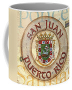Puerto Rico Coat Of Arms Coffee Mug