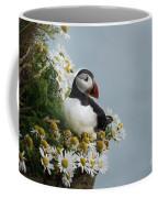 Puffin On Latrabjarg Cliff Coffee Mug