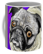Olivia The Pug Coffee Mug